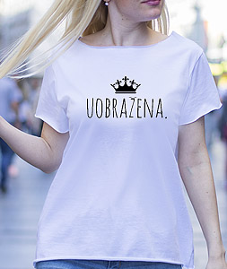 Poluldela Majica Uobrazena