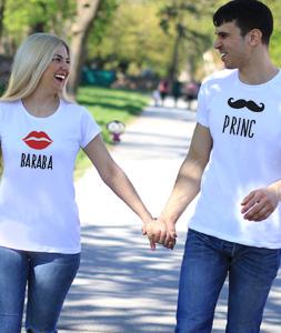 Majice za parove Baraba i Princ