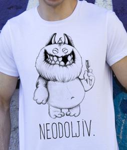 Poludela Majica sa natpisom Neodoljiv
