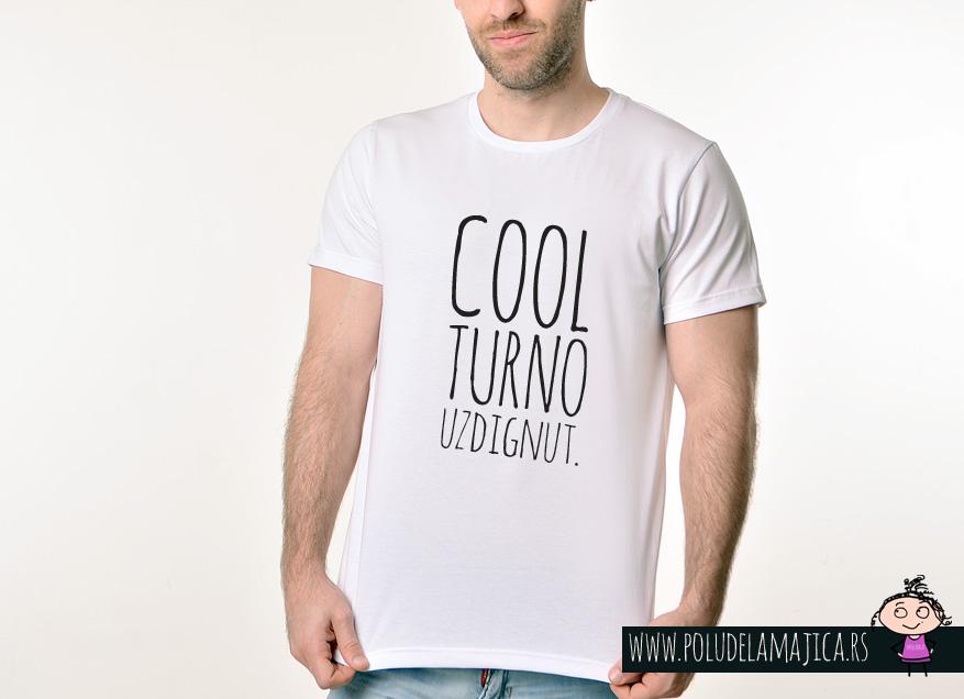 Muska Rules Majica sa natpisom - Coolturno Uzdignut - poludelamajica
