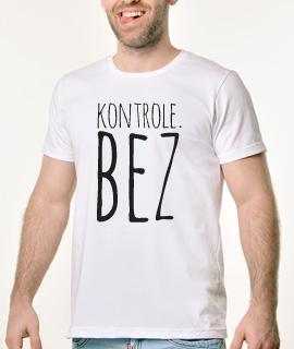 Muska Rules majica sa natpisom Kontrole Bez - Proizvod