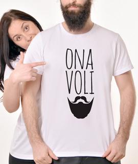 Muska Rules majica sa natpisom Ona VoliBradu - Proizvod