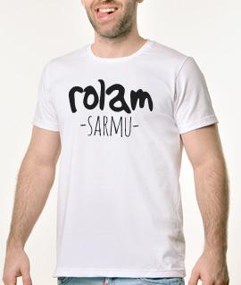 Muska Rules majica sa natpisom Rolam Sarmu - Proizvod