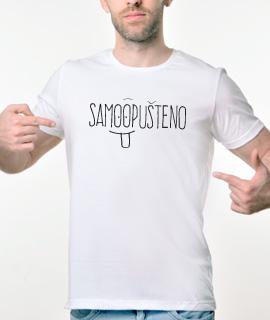 Muska Rules majica sa natpisom Samo Opusteno - Proizvod
