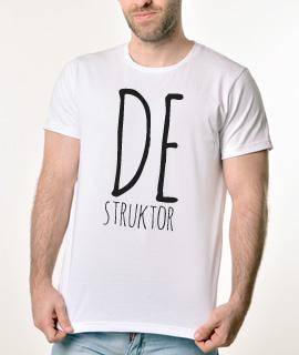 Rules muska majica sa natpisom Destruktor - Proizvod