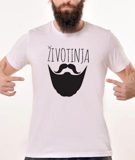 Rules muska majica sa natpisom Zivotinja - Proizvod