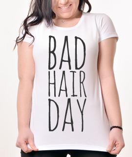 Zenska Rules majica sa natpisom Bad Hair Day2 - Proizvod