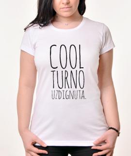 Zenska Rules majica sa natpisom Coolturno uzdignuta - Proizvod