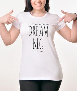 Zenska Rules majica sa natpisom Dream Big - Proizvod