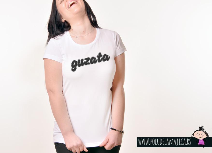 Zenska Rules majica sa natpisom Guzata - poludelamajica