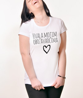 Zenska Rules majica sa natpisom Hvala Mojim Obozavaocima - Proizvod