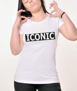 Zenska Rules majica sa natpisom Iconic - Proizvod