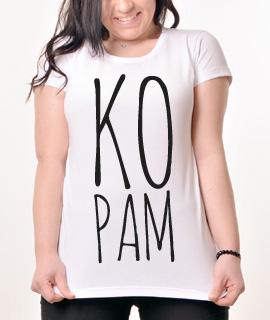 Zenska Rules majica sa natpisom Kopam - Proizvod
