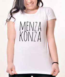 Zenska Rules majica sa natpisom Menza Konza - Proizvod