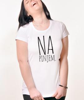 Zenska Rules majica sa natpisom Napinjem - Proizvod