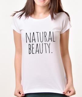 Zenska Rules majica sa natpisom Natural Beauty - Proizvod