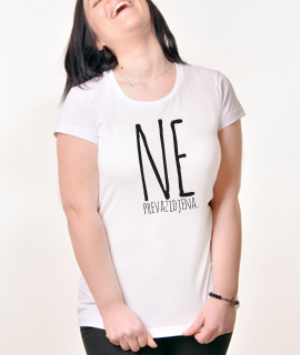 Zenska Rules majica sa natpisom Neprevazidjena - Proizvod