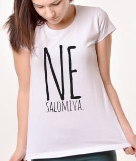 Zenska Rules majica sa natpisom Nesalomiva - Proizvod