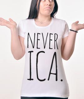 Zenska Rules majica sa natpisom Neverica- Proizvod