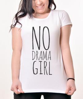 Zenska Rules majica sa natpisom No Drama Girl- Proizvod