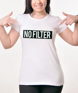 Zenska Rules majica sa natpisom No Filter - Proizvod