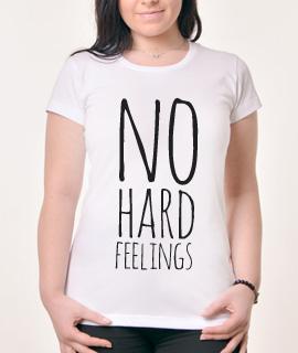 Zenska Rules majica sa natpisom No Hard Feelings - Proizvod