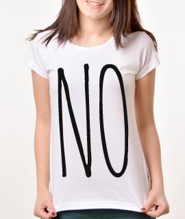 Zenska Rules majica sa natpisom No - Proizvod