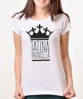Zenska Rules majica sa natpisom Tatina Princeza - Proizvod