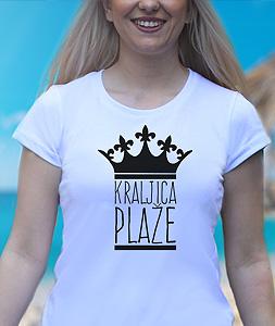 Poludela Majica Kraljica Plaze