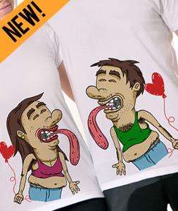 Poludela Majica za parove online shop