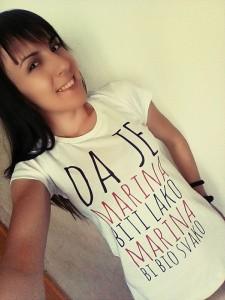 Poludela Majica Da Je Marina