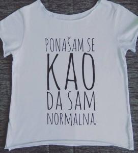 Poludela Majica Ponasam se