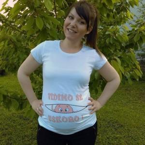 Poludela Majica za trudnice